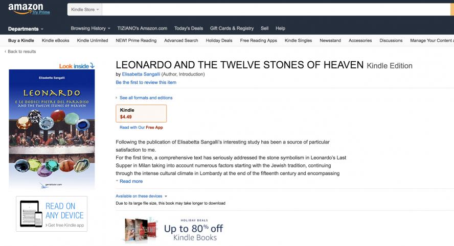 Leonardo Amazon Page